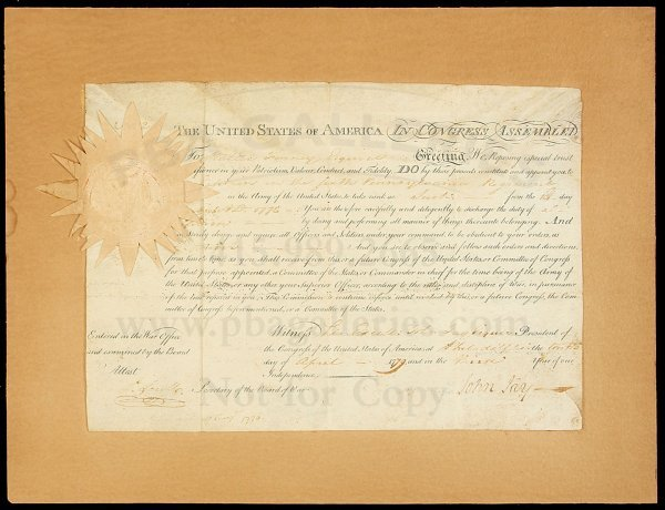 35: Document signed by John Jay, 1779