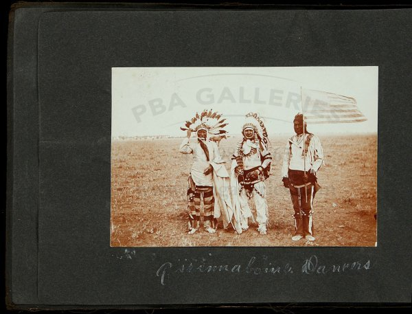 105: Photos of Montana Indians, Forts, Scenery, etc.