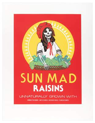 Ester Hernandez's Sun Mad, 1981, 1st Edition
