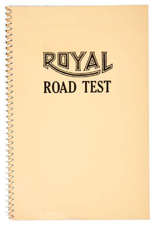 Edward Ruscha, Royal Road Test, 1971