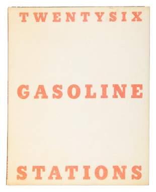Twentysix Gas Stations, Edward Ruscha, third printing