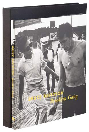 Signed by Bruce Davidson, with signed photograph 1/50