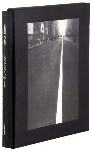 Robert Frank's The Lines of my Hand, first edition