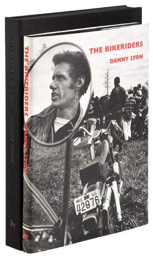 Signed by Danny Lyon with signed photograph