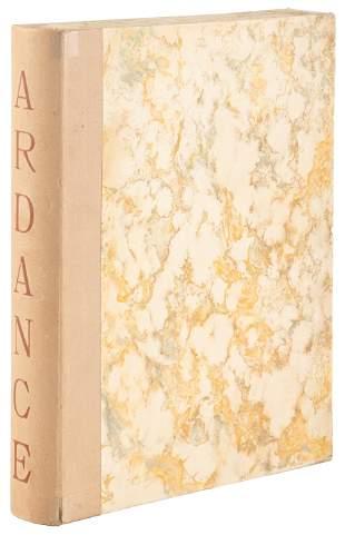 Ardance ou la vallee d'automne, inscribed
