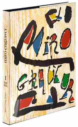 With three original woodcuts by Joan Miro