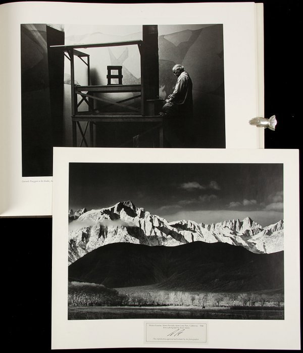 1: 2 printings of Ansel Adams Images 1923-1974
