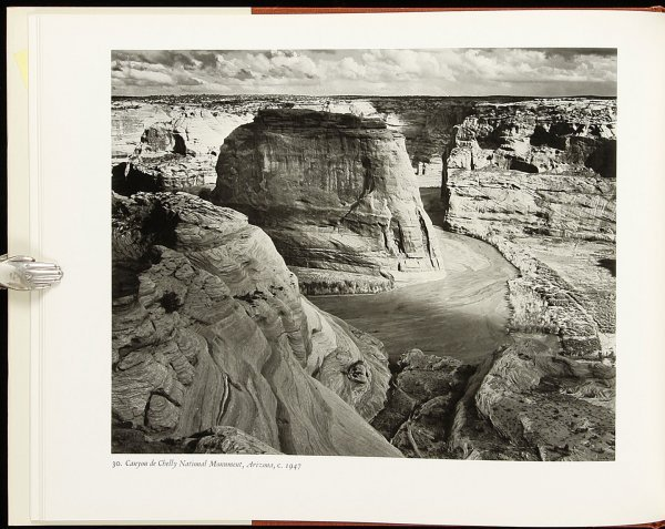 4: photos of southwest by Ansel Adams 1st in dj