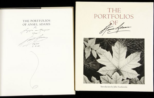 5: 2 signed books on Ansel Adams
