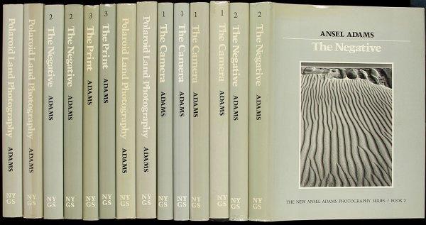 16: New Ansel Adams Photog series, many prtngs in dj