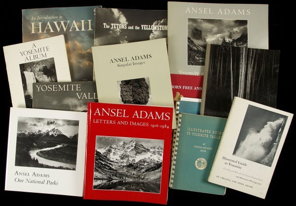 18: 34 volumes on or by Ansel Adams