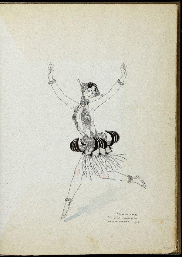 24: G. Barbier Vingt-Cinq Costumes pour le Théatre
