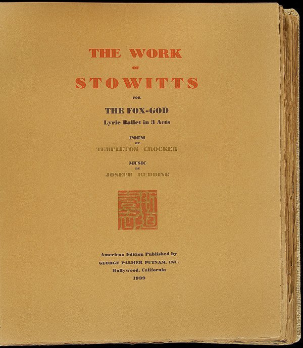 202: The Work of Stowitts for the Fox-God - 4