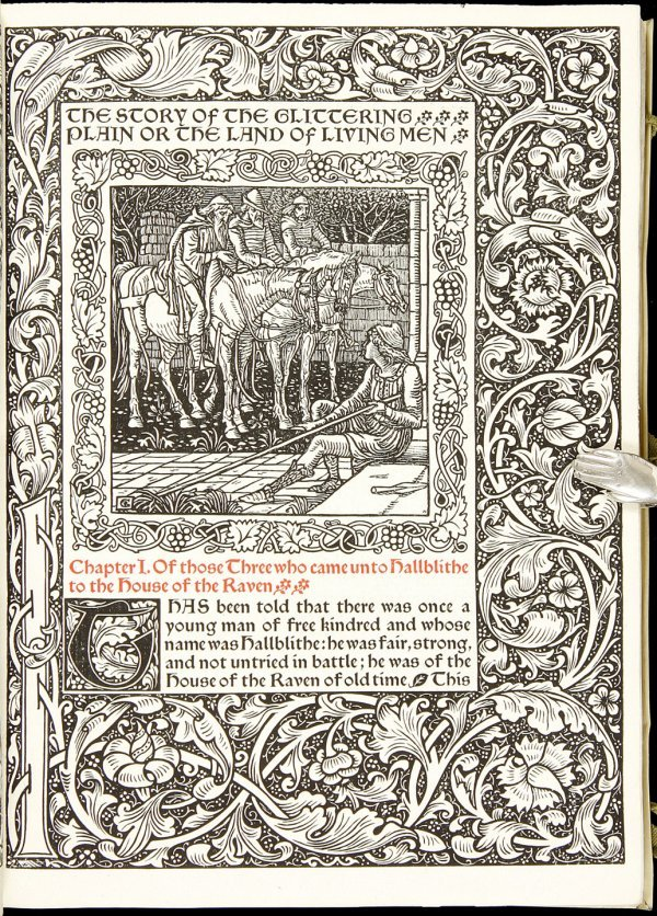 285: The Story of the Glittering Plain Kelmscott Press