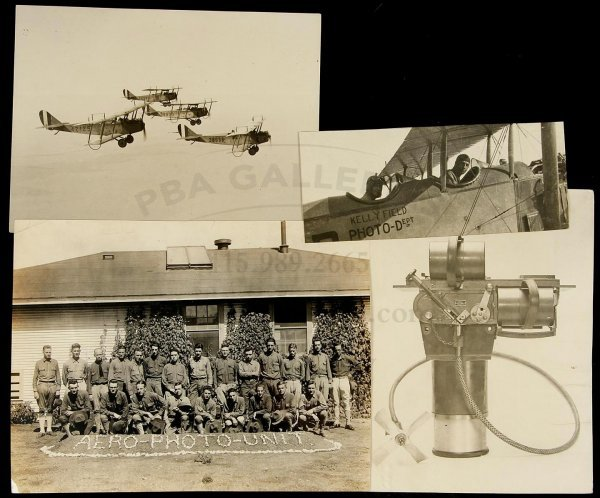 10: Kelly Field Air Force Base aerotnautic photos1918