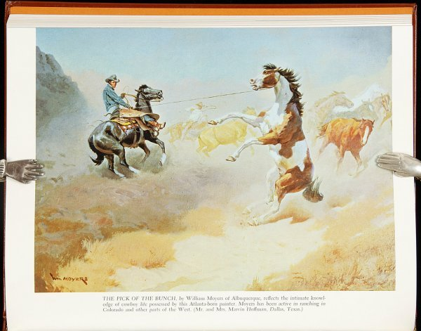 11: Cowboy in Art li1/1000 Ed Ainsworth 1968