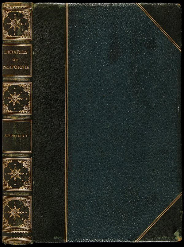 20: libraries of California 1878 1st ed
