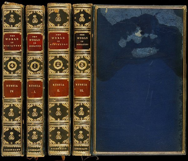 446: World in Miniature...Russia, 4 vols., 1821