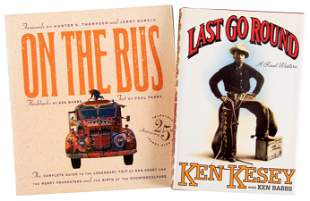 Two works inscribed by Ken Kesey
