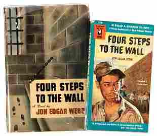Jon Edgar Webb's only novel - 2 editions, 1 signed