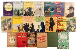 56 volumes by Irvin S. Cobb