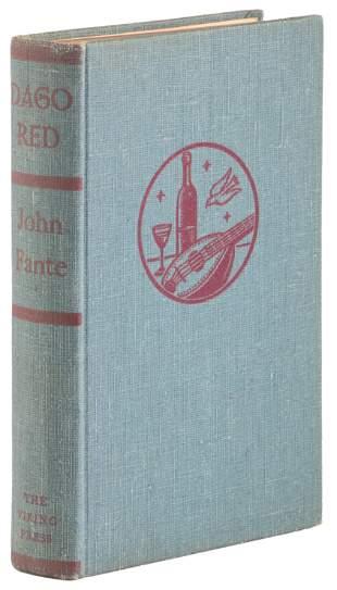 John Fante's Dago Red 1st ed.