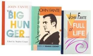 Three works by John Fante - 2 signed
