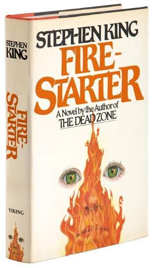 Stephen King Firestarter 1st edition