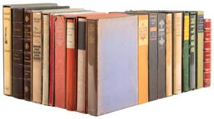 Collection of signed limited editions from Knopf