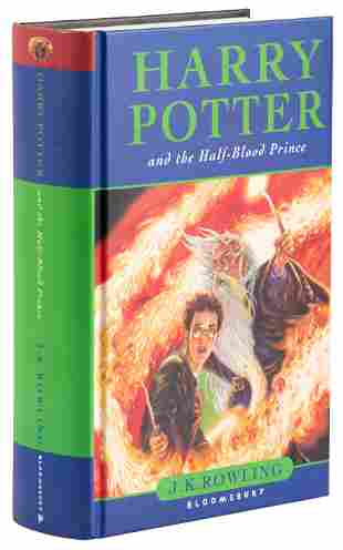Harry Potter and the Half-Blood Prince signed