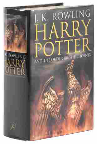 Harry Potter Order of the Phoenix signed