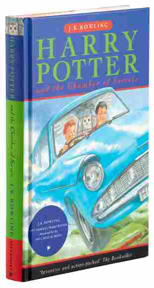 Harry Potter and the Chamber of Secrets 1st ed