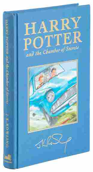 Chamber of Secrets Deluxe signed by film cast