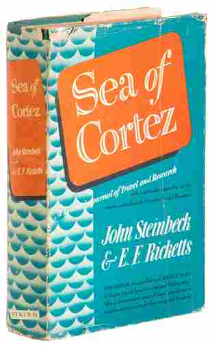 Sea of Cortez, first edition in jacket