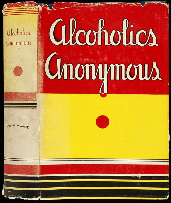 4: Alcoholics Anonymous, 4th printing in jacket