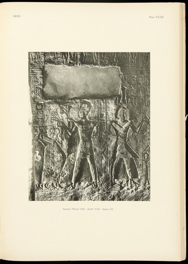 16: Tempel of Derr 1913 Lower Nubia by Blackman