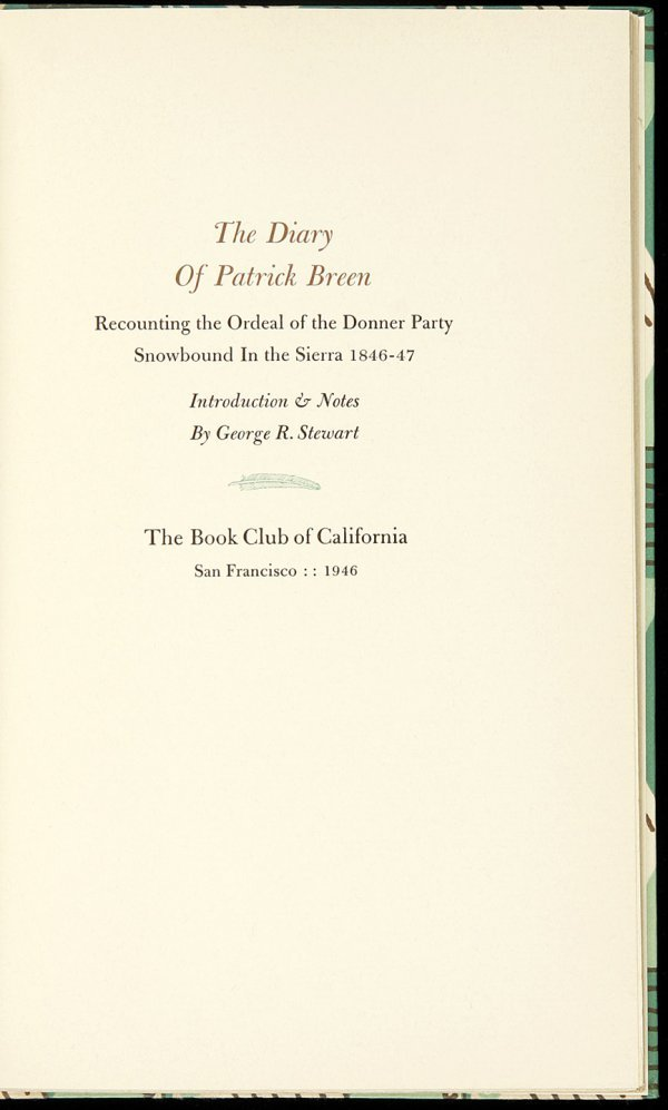 6: Allen Press Diary of Patrick Breen