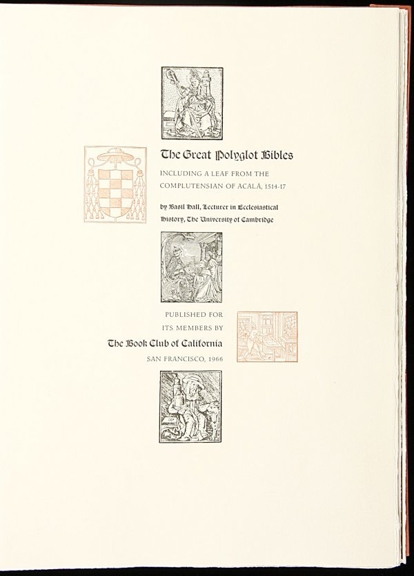 12: The Great Polyglot Bibles - Allen Press
