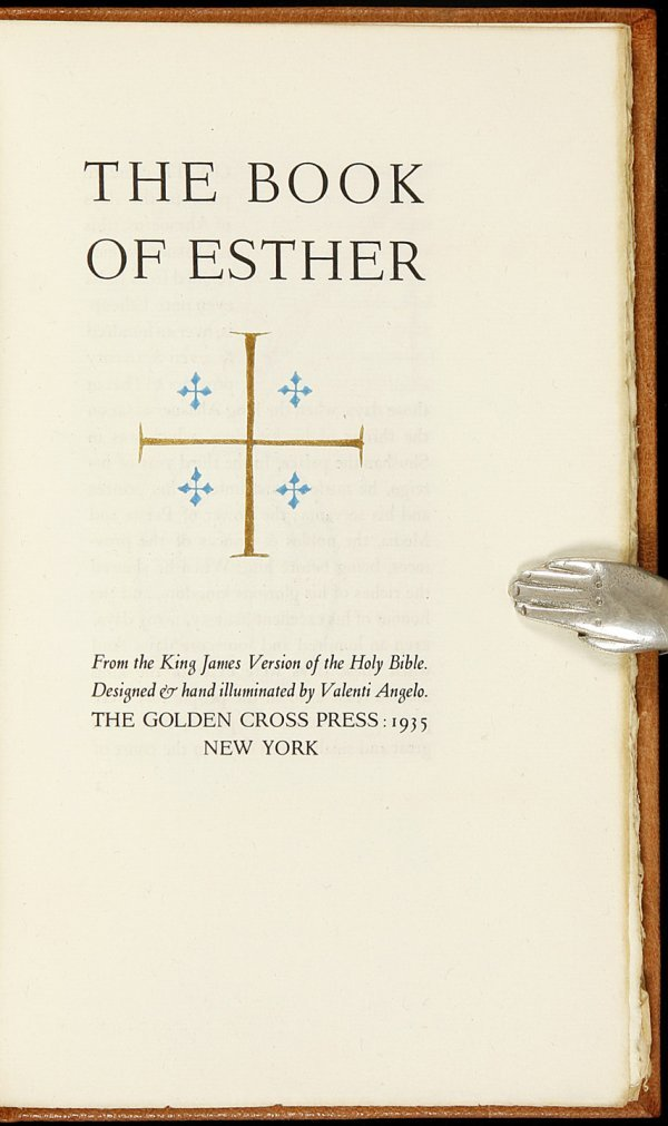 23: Valenti Angelo The Book of Esther