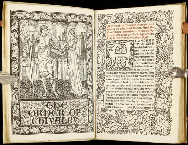 211: The Order of Chivalry Kelmscott Press