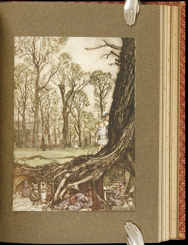 306: Peter Pan in Kensington Gardens Finely Bound