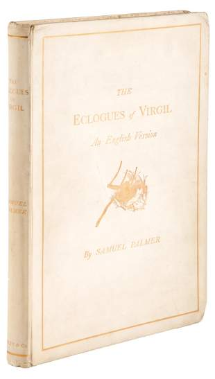 The Eclogues of Virgil. 1883 1/10 presentation copies