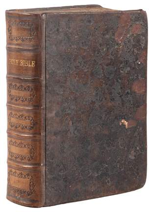 First quarto edition of the King James Bible 1612