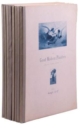 Great Modern Painters Series 8 vols. 1884-86