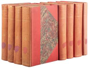 Book for the book lover, 8 volumes in French