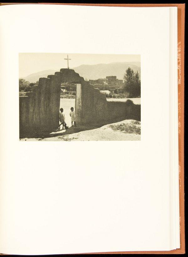 1: Ansel Adams - Taos Pueblo - 1 of 950 copies-sgnd