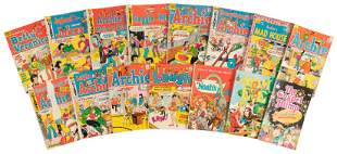 Archie Comics: Lot of 12 Comics & 3 Extras, 1970s