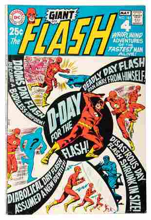 Flash #187 * 68 Page Giant * G58