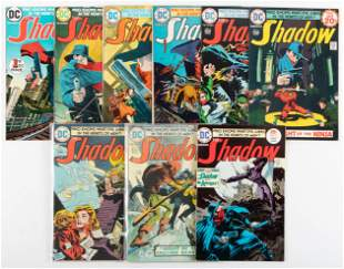 The Shadow #'s 1-11 * VG/Fine * Kaluta