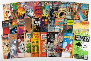 DC and Other Publishers: Lot of Approx. 220 Comics,